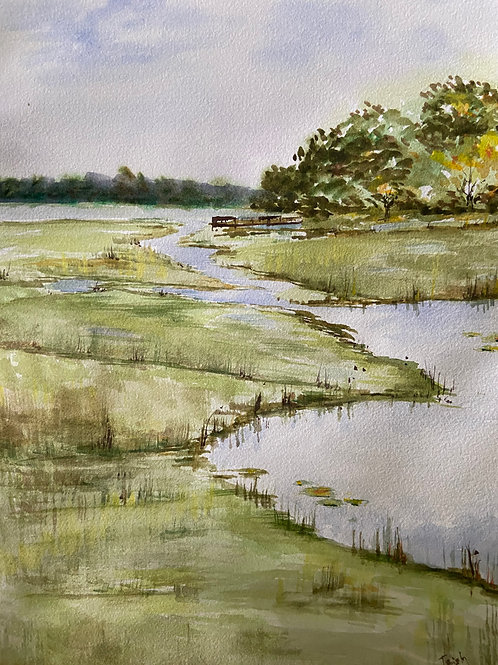 Georgia Coast by Patricia Lamar
