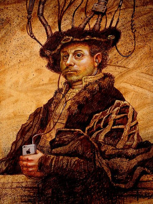 Rembrandt by Lino Azevedo