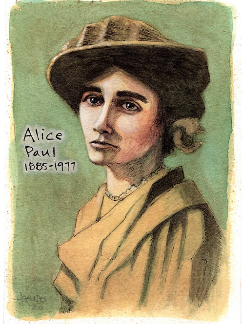 Alice Paul by Lino Azevedo