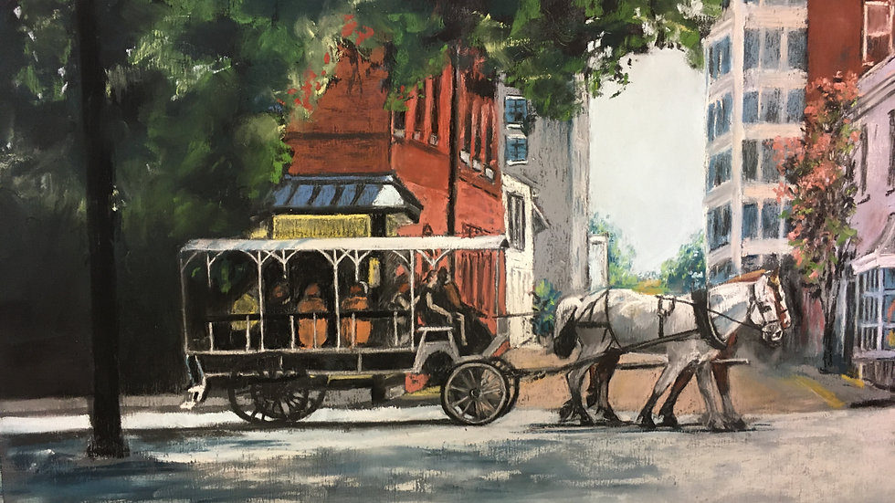 Stepping Out, Bull Street - Rebecca Marcussen