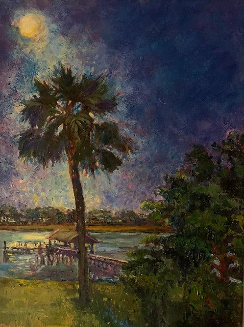 Moon River Nocturn by Mimi Diamond