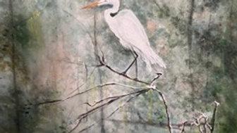 Snowy Egret . . . On Watch