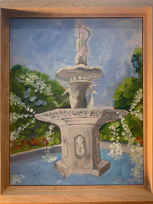 Forsyth Fountain by Deb Palmer