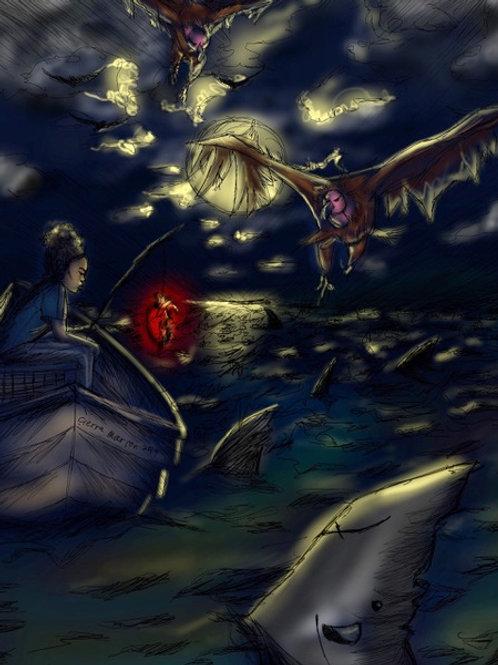 Gone Fishing by Cierra Marion