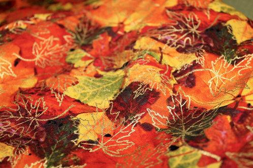 Unique Yoga Mat Bag - Fall Leaves