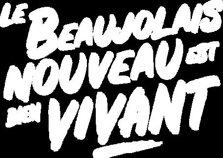 Le beaujolais nouveau est bien vivant