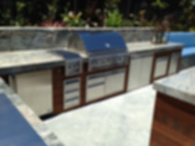 Outdoor Kitchen, Grill, Side Burner