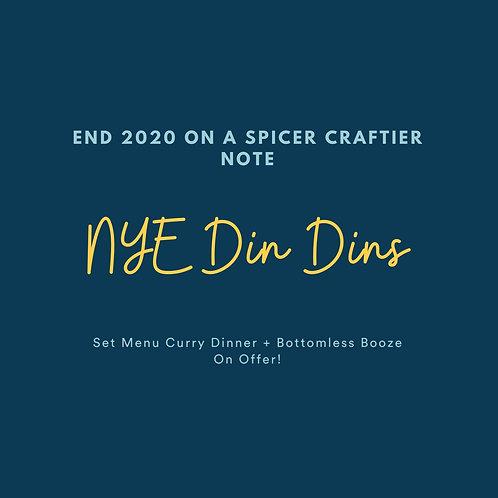 NYE-Din Dins : Ticket