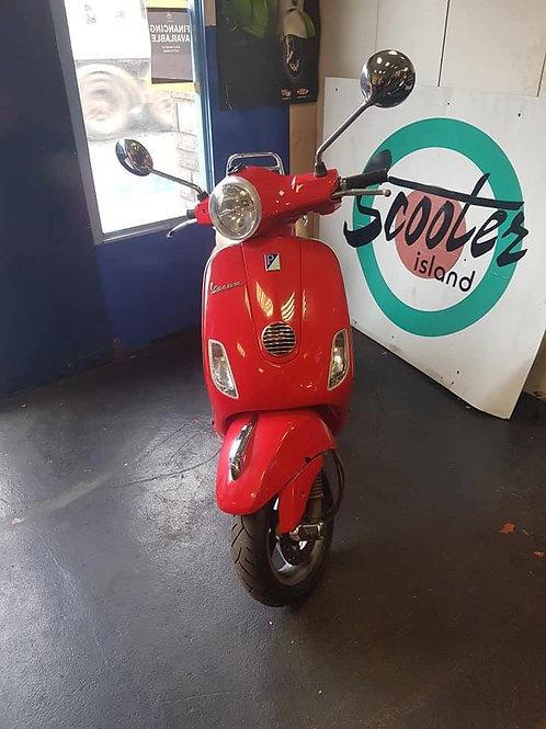 VESPA LX 50cc 2012 RED
