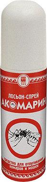 """Лосьон-спрей от комаров и мошек """"Акомарин"""""""