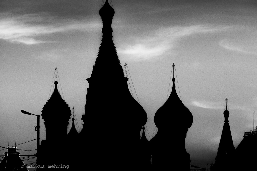 silhouettes of Moscow 08