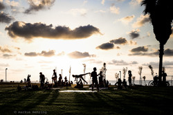 Charles Clore Park Silhouettes 02
