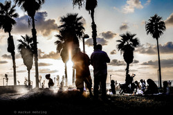 Charles Clore Park Silhouettes 01
