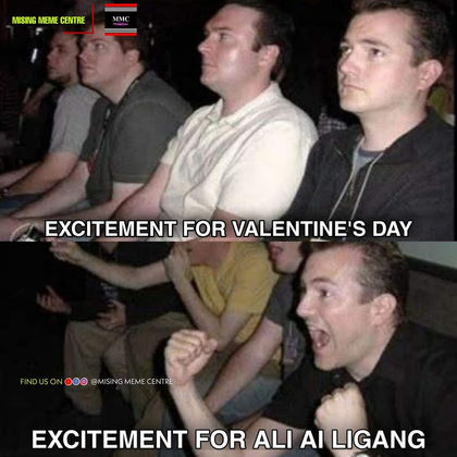 Excitement for Ali Ai Ligang