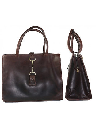 Grays Alice Bag in Brown Leather