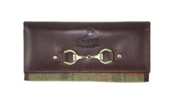 Grays Lily Purse in Red Tweed