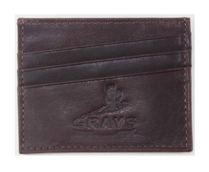 Grays Ralph Card Slip in Brown