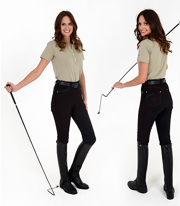 Rugged Breeches JS3A in Black