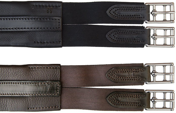 Sheldon Leather Atherstone Elastic Girth