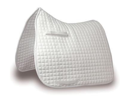 Mark Todd Traditional Dressage Pad in White