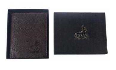 Grays Douglas Wallet in Fine Brown Leather