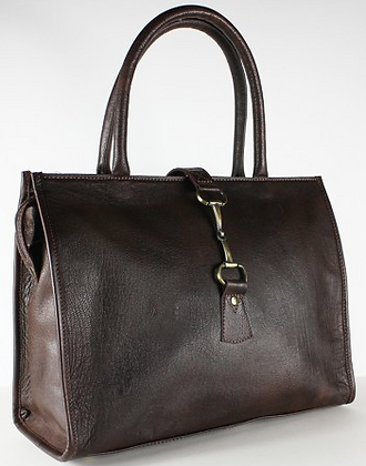 Grays Alice Bag in Fine Brown Leather