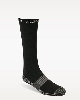 Noble Outfitters Boot Sock Crew in Black