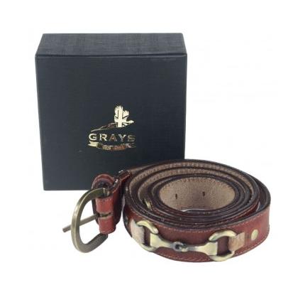 Grays Maple Snaffle Belt
