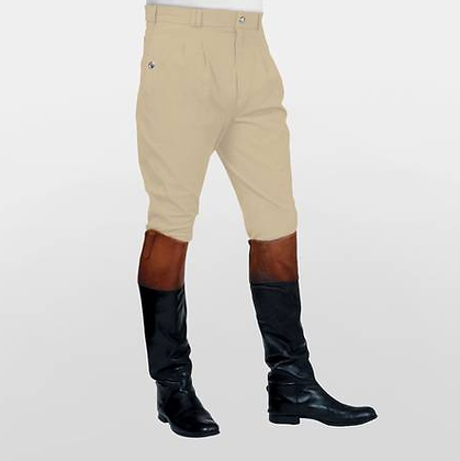 Mark Todd Auckland Pleated Front Breeches in Beige
