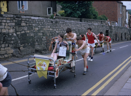 Missing Bed Race?
