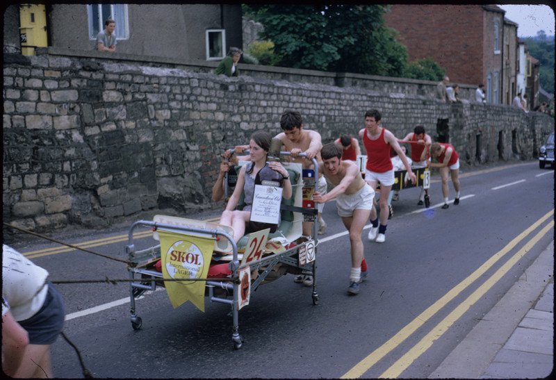 Bed Race 1966 photo