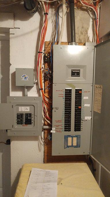 Branchement Generatrice, Interrupteur De Transfert 450.818.8202