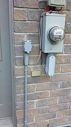 Branchement generatrice interrupteur de transfert for Installation electrique exterieur