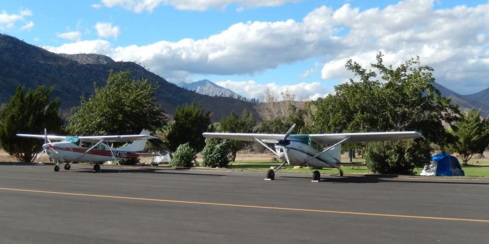 Kern Valley Fly Away Weekend & Camping Trip