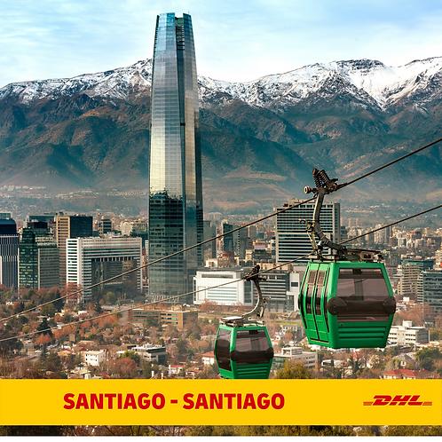 Envío Santiago - Santiago (hasta 0.8 Gr.)