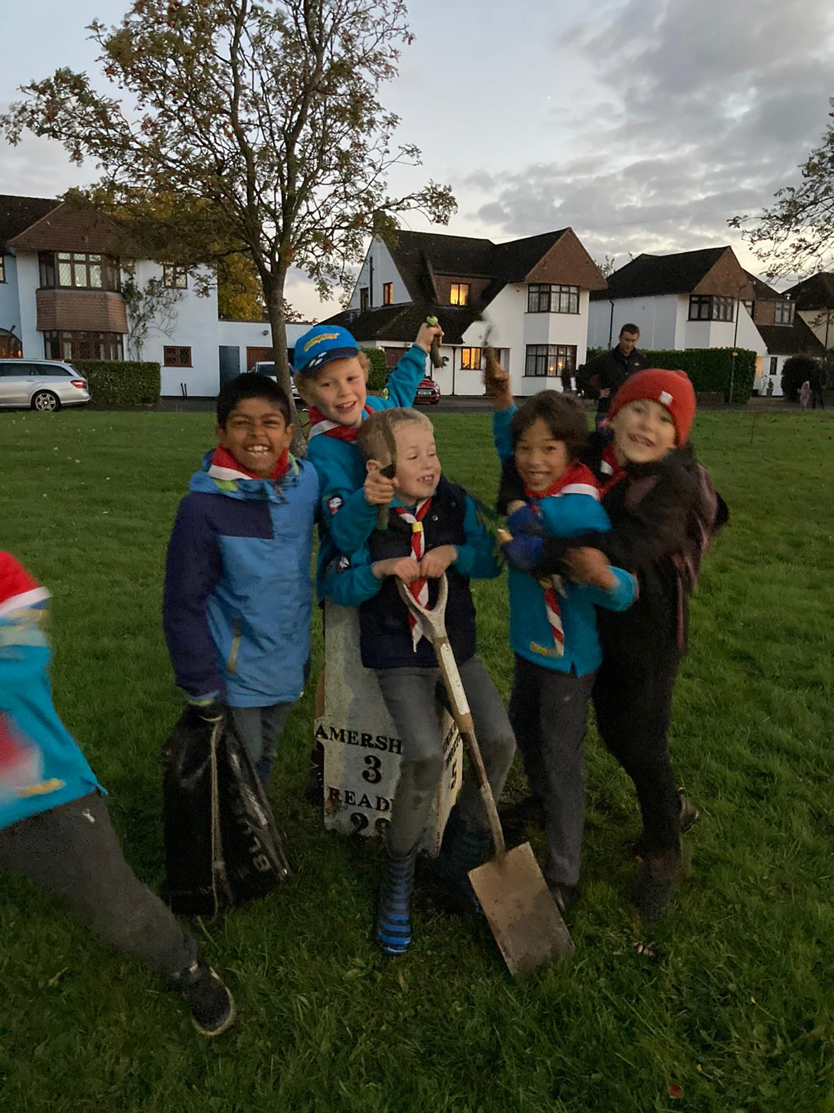Amersham Common Beavers 2020