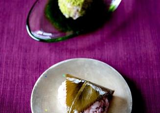 炊飯器で  桜のおはぎ