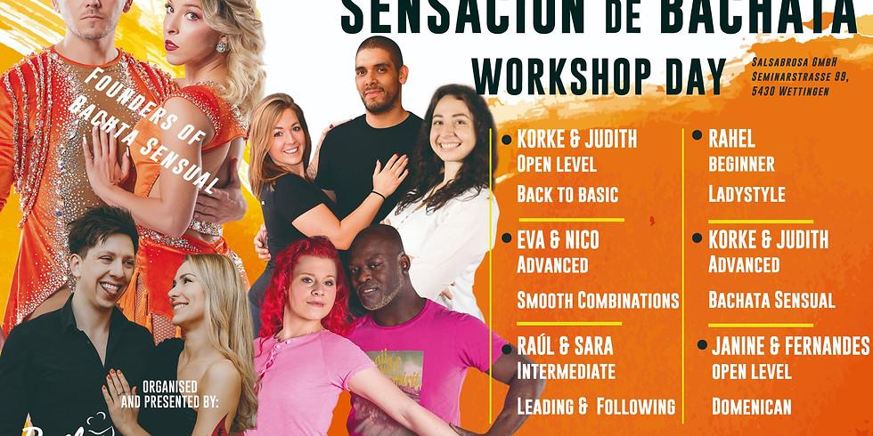 SENSACIÓN de BACHATA Workshop Day