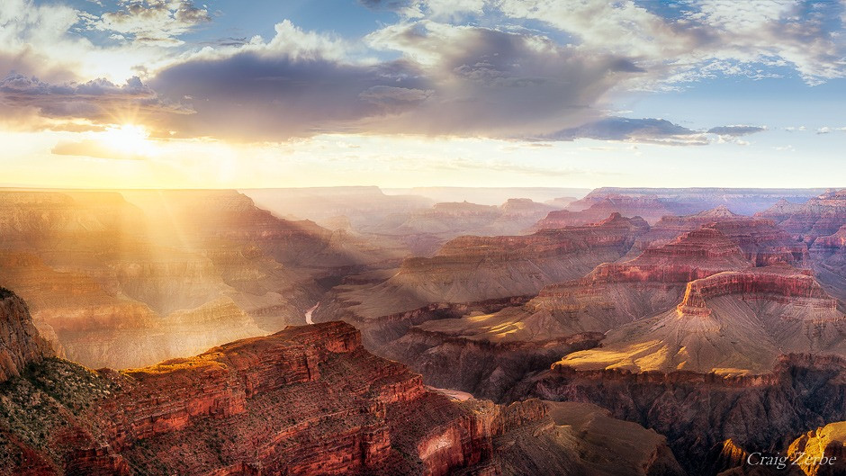 Grand Canyon Hopi Point sunset