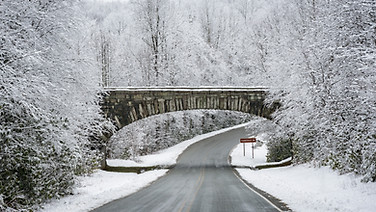 Blue Ridge Parkway - Winter