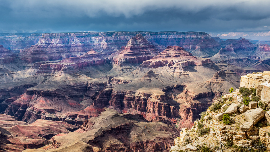 Grand Canyon National Park - Navaho Point Monsoon