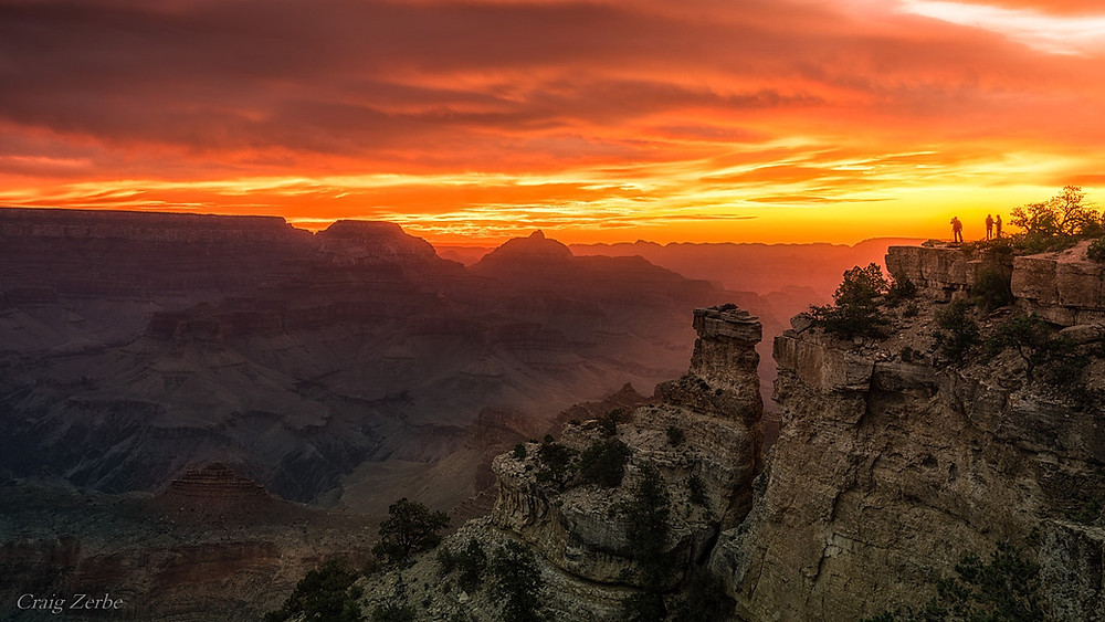 Sunrise at Yaki Point - Grand Canyon National Park