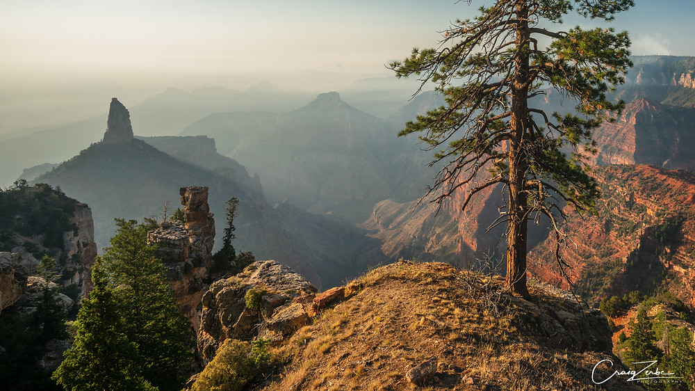 Mount Hayden from the Ken Patrick Trail - Grand Canyon - photo workshop