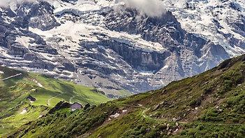 Near the Kleine Scheidegg,  Switzerland