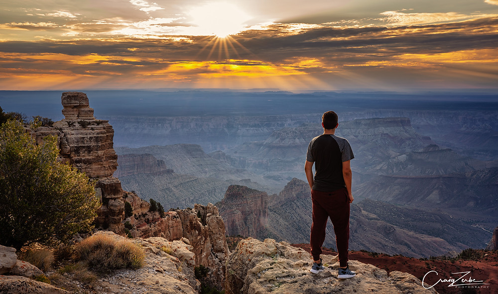 Grand Canyon Sunrise - Point Imperial - Photo Guide, workshop