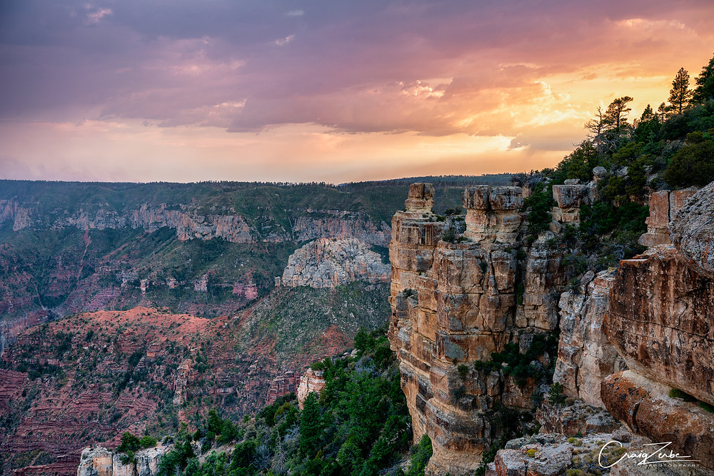 Sunset from Point Imperial - Grand Canyon National Park - Photo Guide