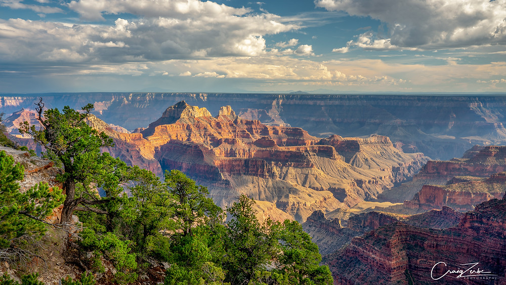 Bright Angel Point - Grand Canyon National Park - North Rim - Photography advice