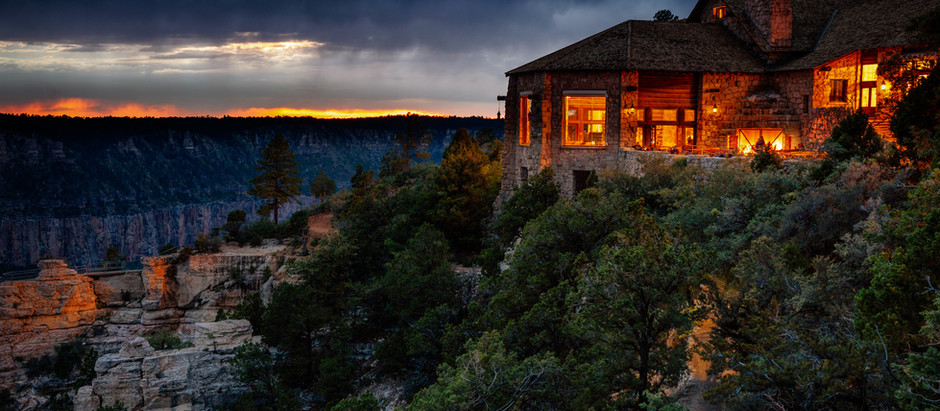 Grand Canyon - North Rim - Lodge area - Vol.3