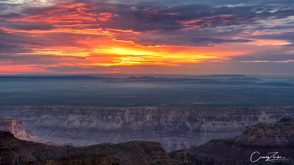 Grand Canyon - Point Imperial - Sunrise - Photo Guide