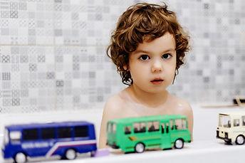enfant autiste baignoire jouet